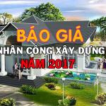 Báo giá dịch vụ nhân công xây dựng tại nhancongxaydung.net