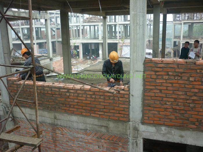 Quy trình xây tường không nên bỏ qua