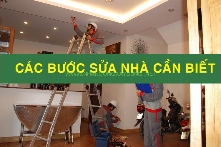 Các bước sửa chữa cải tạo nhà vừa đẹp lại vừa tiết kiệm