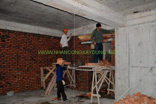 Quy trình thi công và nghiệm thu công tác xây tường công trình