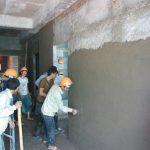 Nhân công trát tường nhà xưởng sản xuất tại các Khu Công Nghiệp