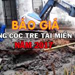 Báo giá cọc tre mới nhất tại Hà Nội và Miền Bắc
