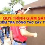 Quy trình giám sát kiểm tra công tác xây trát trong xây dựng