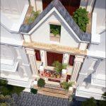 Thiết kế kiến trúc nội thất Biệt thự Tân Triều – Thanh Trì – Hà Nội Cô Tuyết