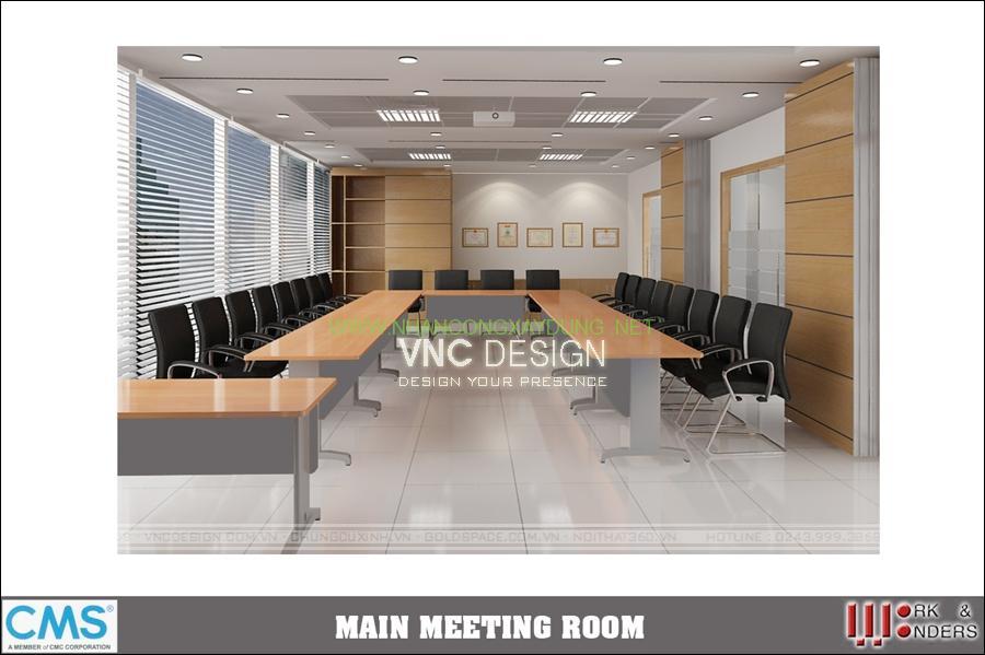 Thiết kế nội thất văn phòng CMS