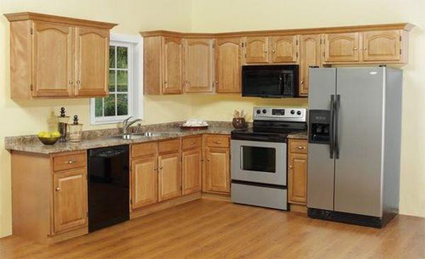 Những mẫu tủ bếp đơn giản mà đẹp