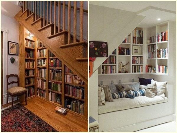 7 ý tưởng trang trí gầm cầu thang phòng khách bạn sẽ thích