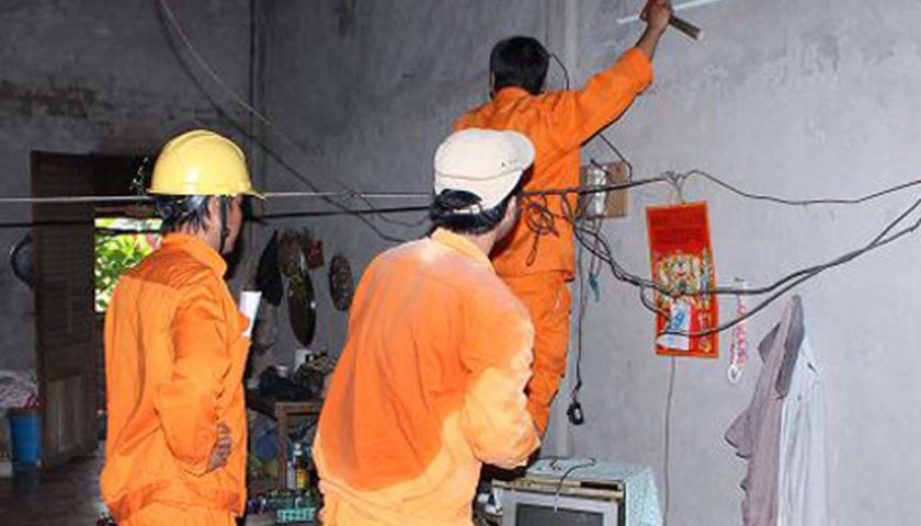 Đơn giá nhân công lắp đặt điện nước tại Hà Nội