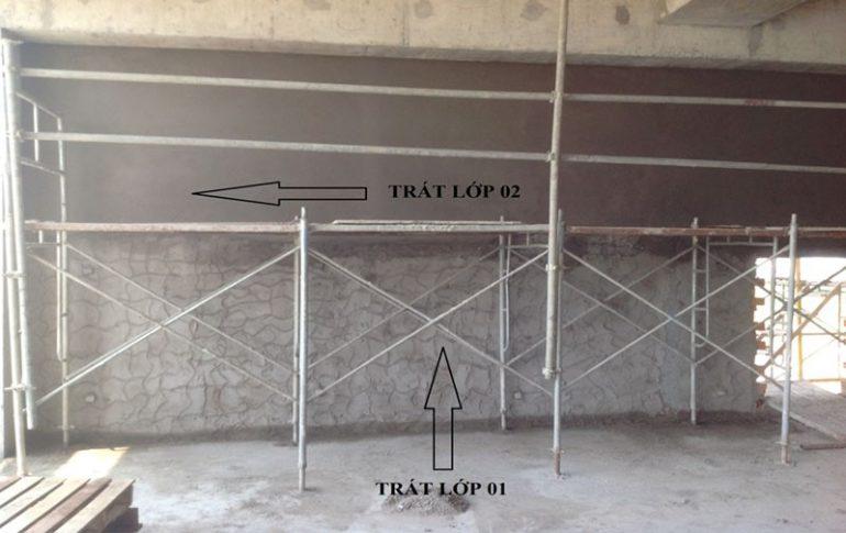 Quy Trình Tô Trát Tường, Cột, Dầm, Trần