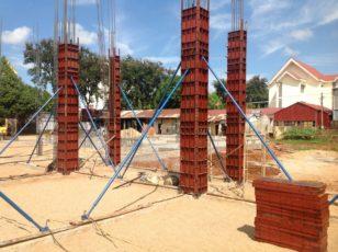 Những điều cần chú ý khi đổ bê tông cột nhà