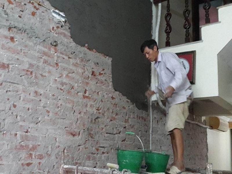phương pháp trát tường phẳng đẹp