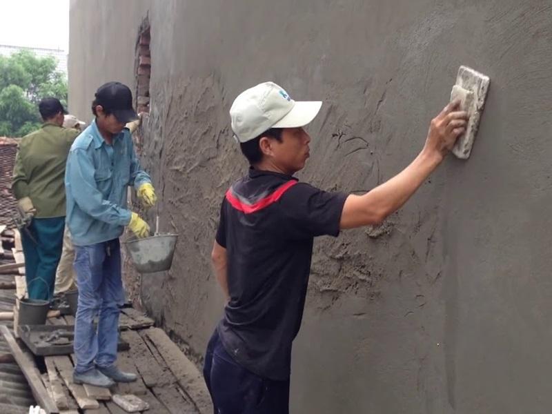 Quy trách trát tường phẳng đúng kỹ thuật và đẹp