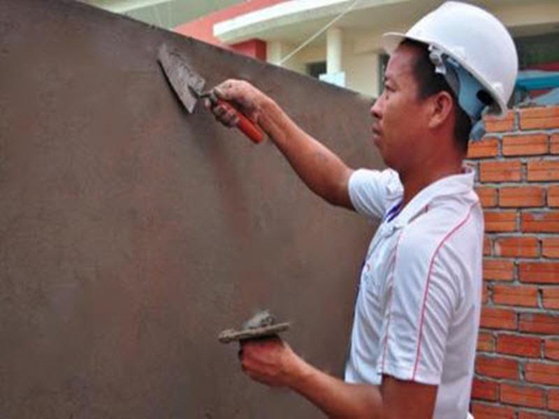 phương pháp trát tường phẳng như thế nào
