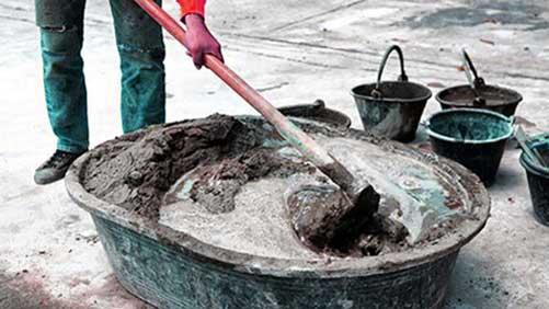 Xi măng giả sẽ ảnh hưởng khá nghiêm trọng đến các công trình xây dựng
