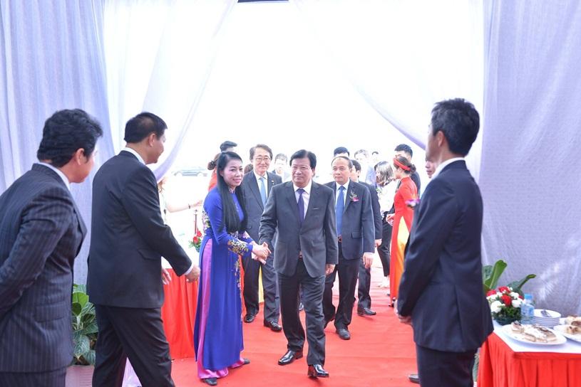 Lễ động thổ khu công nghiệp thăng long Vĩnh Phúc với sự tham dự của Phó Thủ Tướng Chính Phủ