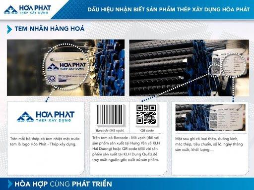 Bảng Báo giá thép Hòa Phát