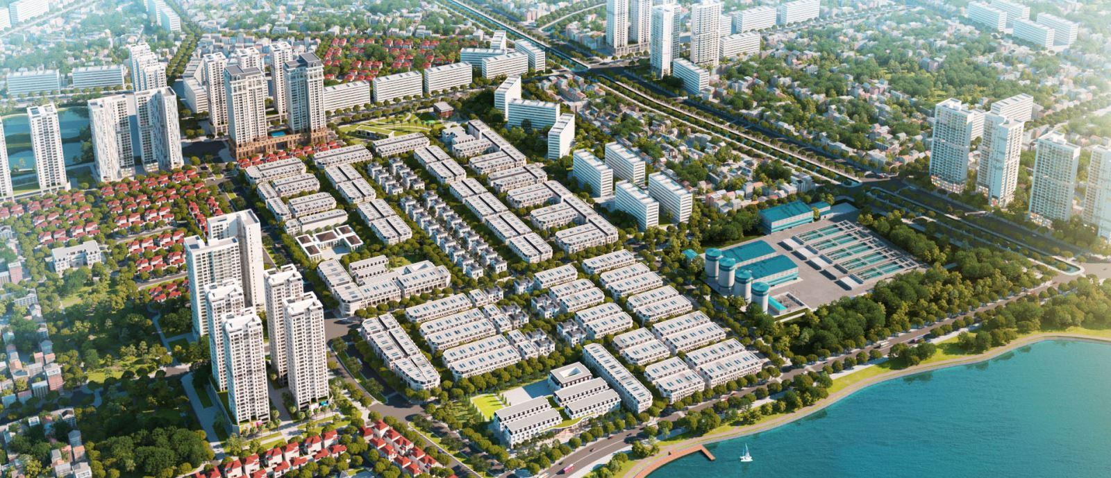 Thi công Dự án Louis City Hoàng Mai