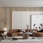 Thi công nội thất phòng khách trọn gói đẹp nhất 2021