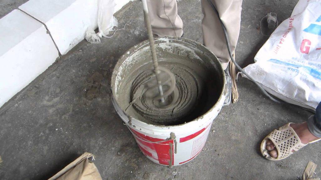 Cách trộn vữa Ốp lát nền