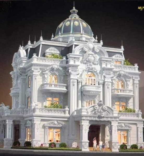 Những mẫu lâu đài, biệt thự đẹp nhất năm 2020