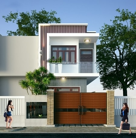thiết kế nhà ngang 6m dài 10m 12