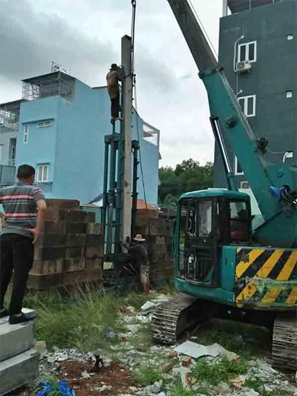 Mẫu Hồ Sơ Nghiệm Thu công tác thi công ép cọc và Đúc cọc bê tông