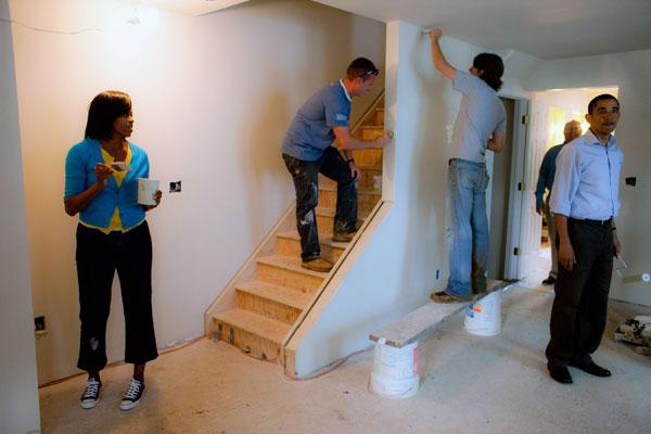 Quy trình thi công sơn bả hoàn tiện tường