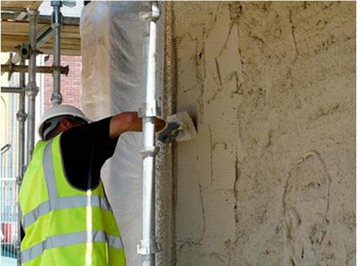 Giám sát thi công trát tường