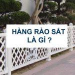 hàng rào sắt là gì