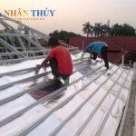 Thi công và nghiệm thu công tác mái tôn