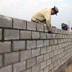 Nhân công thi công xây tường