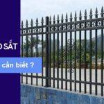 Những câu hỏi liên quan đến hàng rào sắt