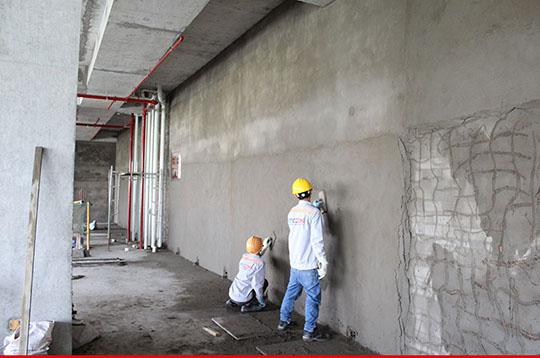 Các bước thi công trát tường
