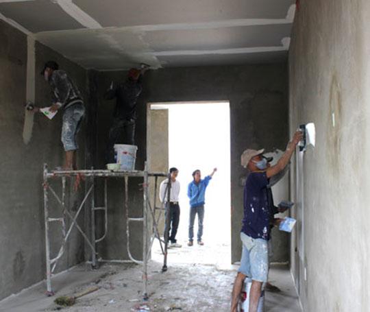 Hướng dẫn quy trình trát tường nhà