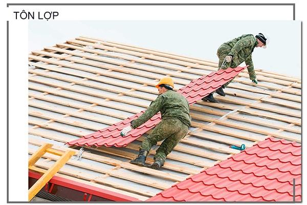 Lợp tôn chống nóng sân thượng những điều cần lưu ý ?