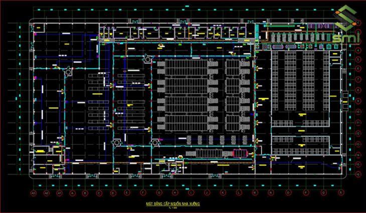 Xây dựng bản vẽ hệ thống điện nhà xưởng phù hợp sẽ giúp việc lắp đặt dễ dàng hơn