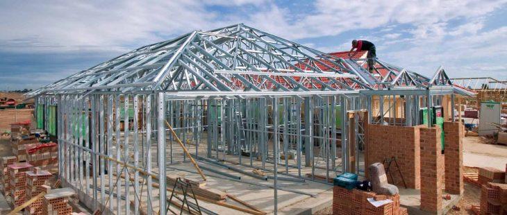 Đơn giá xây dựng khung kèo là yếu tố ảnh hưởng lớn đến chi phí lợp mái ngói