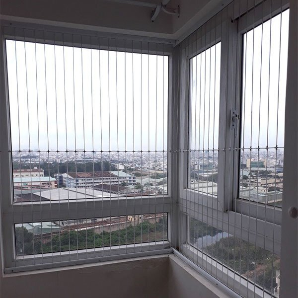 Lưới an toàn ban công cửa sổ ? Sản phẩm không thể thiếu với gia đình có trẻ nhỏ ?