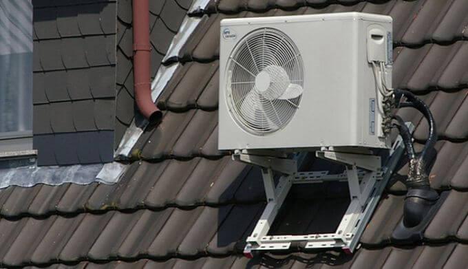 Lắp điều hòa không khí chống nóng mái tôn