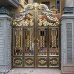 Xem 40 mẫu cổng inox mạ màu mỹ thuật đẹp xa hoa lộng lẫy