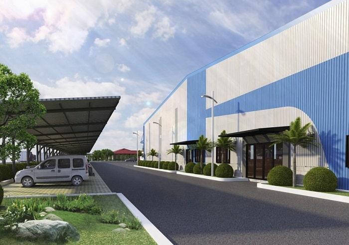 Mẫu thiết kế Nhà máy Lâm Hiệp Hưng