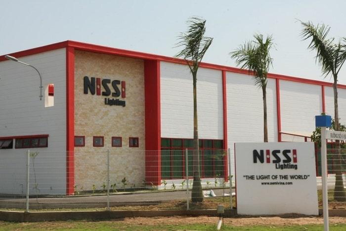 Mẫu thiết kế Nhà máy SEMIVINA - NISSI