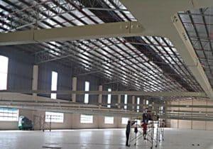 Thi công lắp đặt thang máng cáp điện cho nhà xưởng, nhà máy
